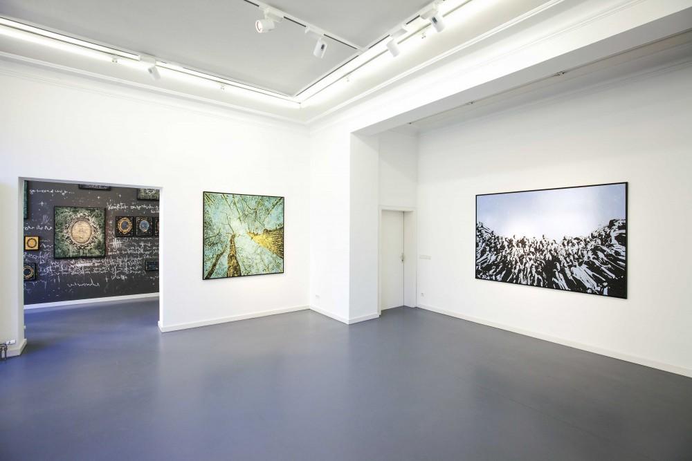 Ausstellungsansicht Galerie Andreas Binder