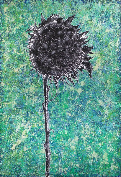 Aufrecht, 250x170cm, Malerei mischtechnik auf LW