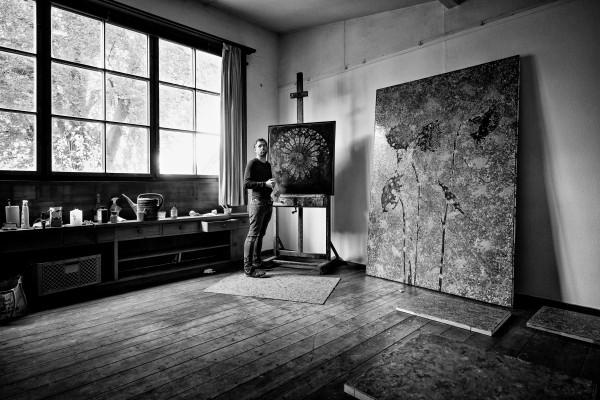Jan Davidoff Atelierstipendium Studio Rose Schondorf am Ammersee 2020